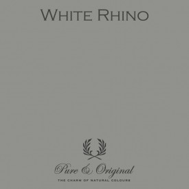 Wall Prim - White Rhino